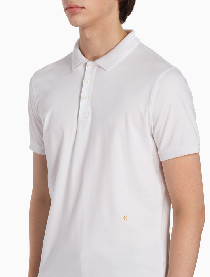 CALVIN KLEIN KNIT POLO SHIRT