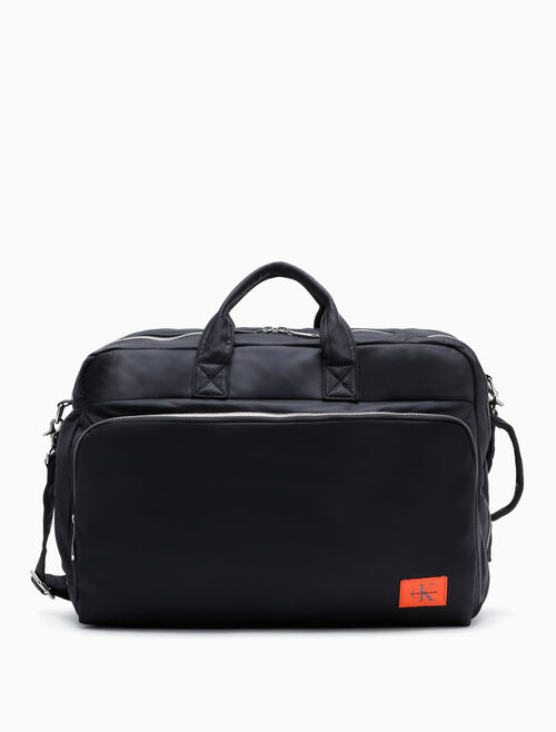 CALVIN KLEIN PILOT TWILL CONVERTIBLE TRAVEL BACKPACK