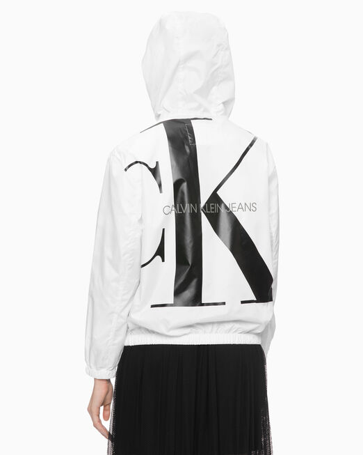 CALVIN KLEIN XL LOGO ZIP UP 후디