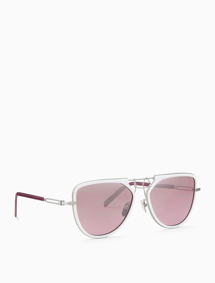 CALVIN KLEIN Clip bridge notch sunglasses
