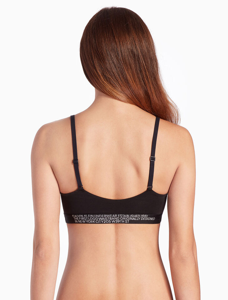 CALVIN KLEIN STATEMENT 1981 COTTON BRALETTE