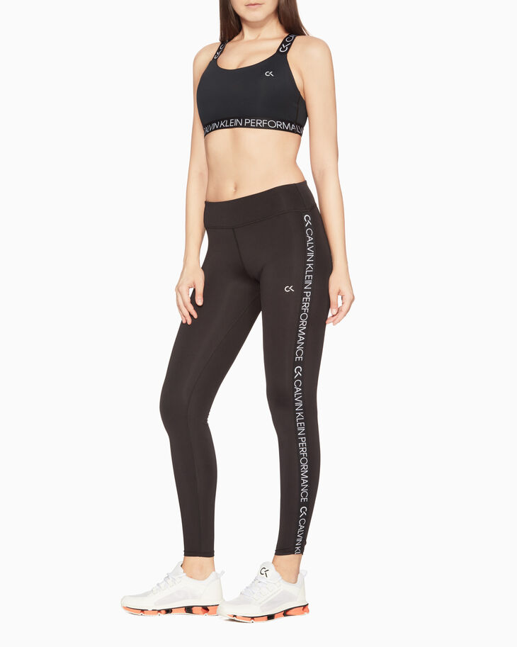 CALVIN KLEIN SPACE GEAR LOGO TAPE LEGGINGS
