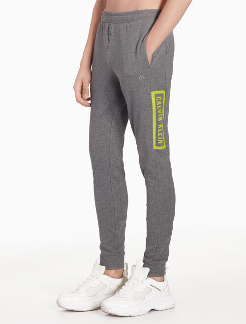 CALVIN KLEIN BOX LOGO SWEATPANTS