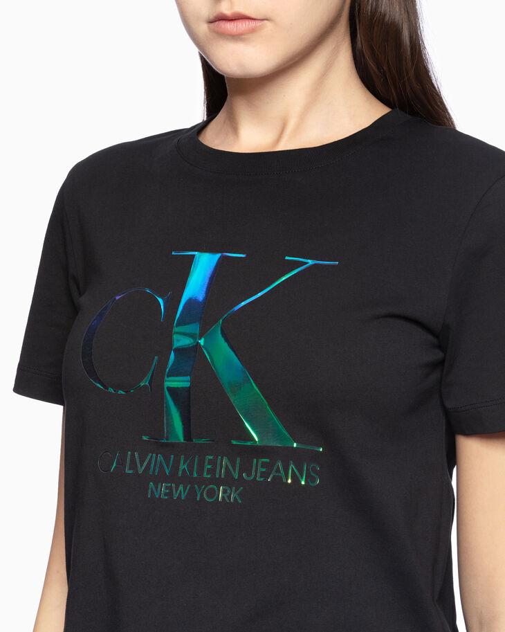 CALVIN KLEIN 37.5 MONOGRAM LOGO 티셔츠