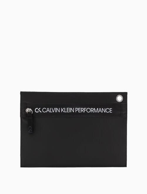 CALVIN KLEIN ZIP UP POUCH