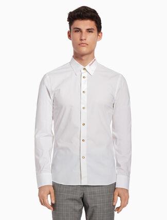 CALVIN KLEIN Logo collar shirt