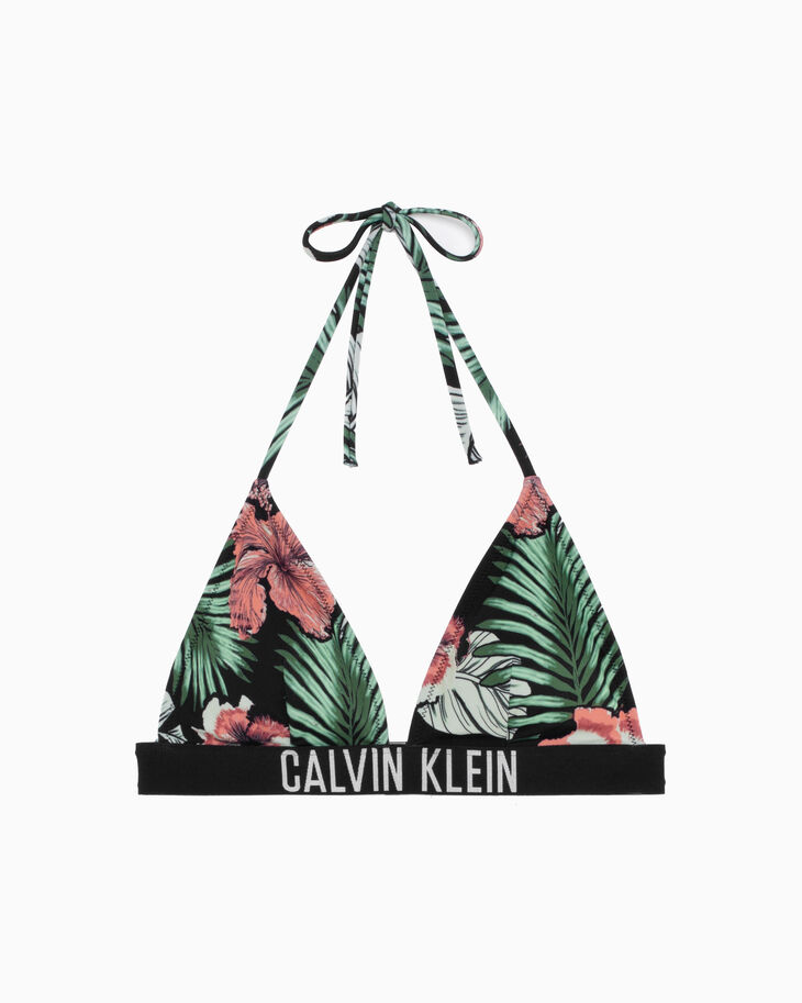 CALVIN KLEIN INTENSE POWER ALL OVER PRINT BIKINI TOP