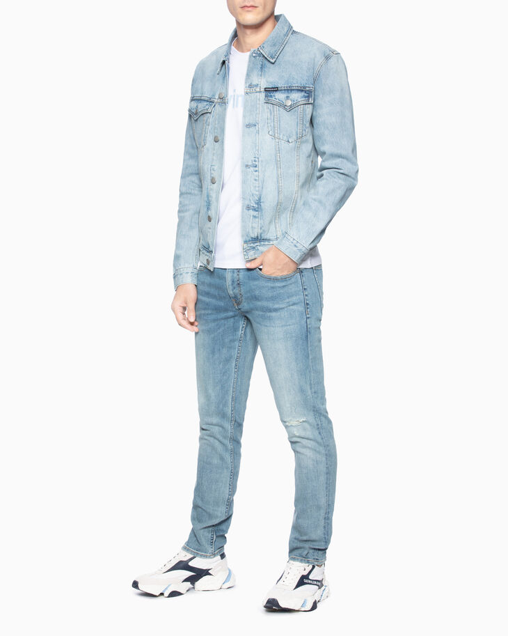 CALVIN KLEIN FOUNDATION SLIM DENIM JACKET