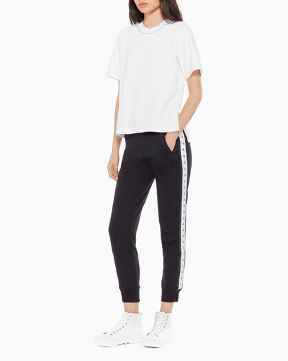 CALVIN KLEIN MONOGRAM TAPE sweatpants