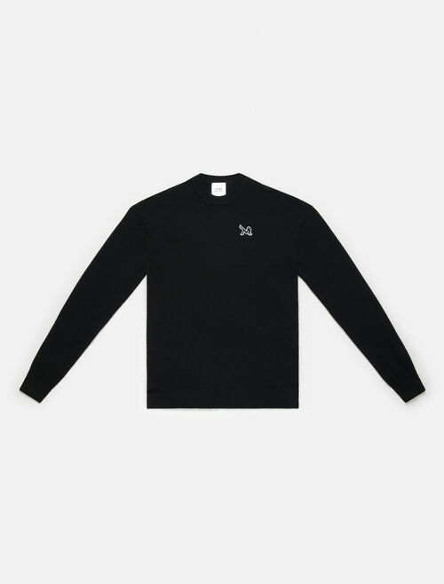 CALVIN KLEIN WOOL CREWNECK SWEATER
