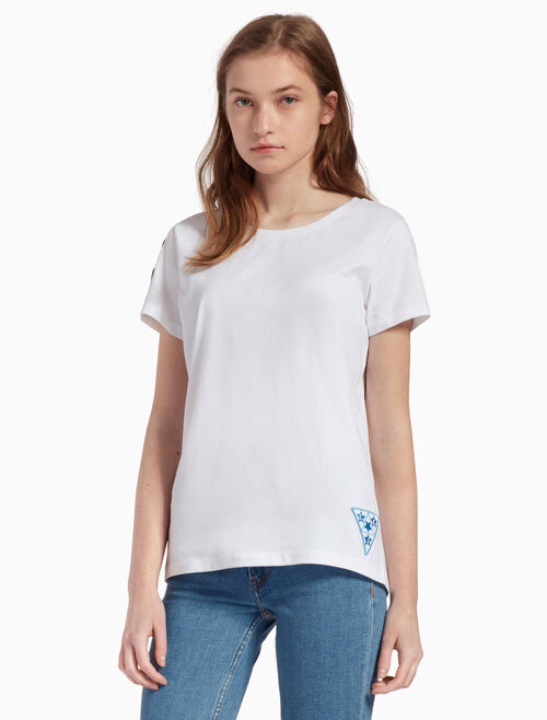 CALVIN KLEIN BADGE TEE
