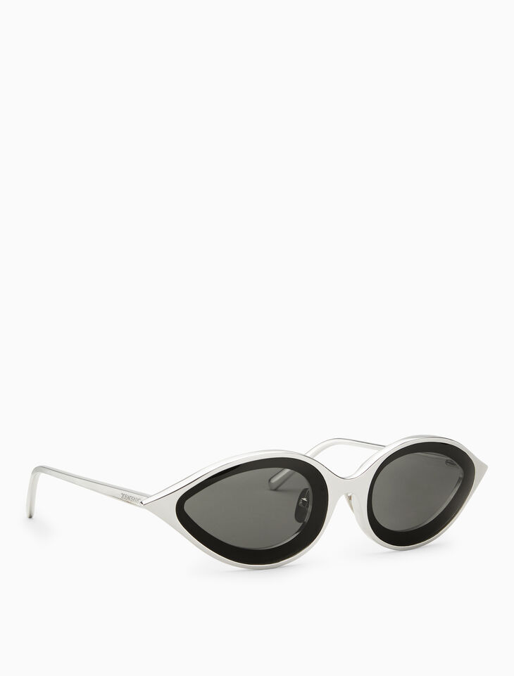 CALVIN KLEIN TAPERED INSET EYE CORNERED 선글라스