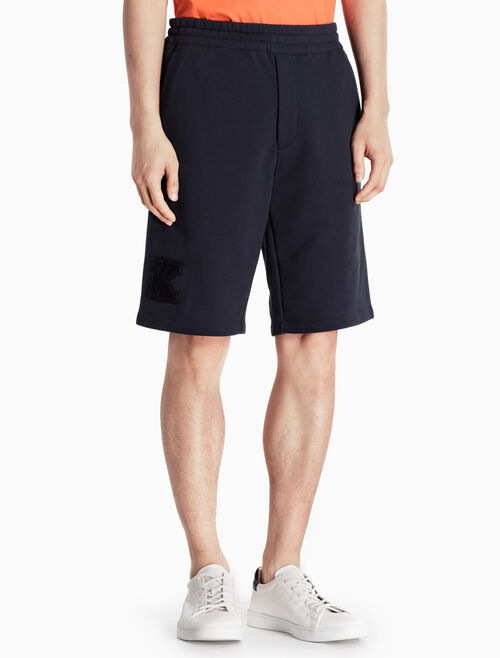 CALVIN KLEIN KNITTED COTTON SHORTS