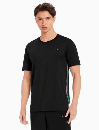 CALVIN KLEIN COOLCORE SIDE STRIPE TEE