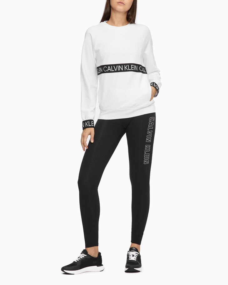 CALVIN KLEIN ACTIVE ICON LOGO BAND SWEATSHIRT