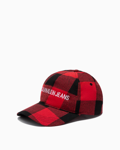 CALVIN KLEIN BUFFALO CHECK CAP