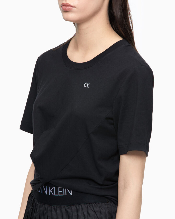 CALVIN KLEIN ACTIVE ICON KNOT DETAIL 上衣
