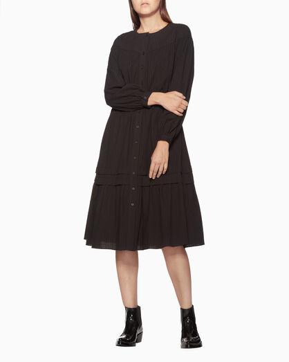 CALVIN KLEIN LONG SLEEVE PRAIRIE DRESS