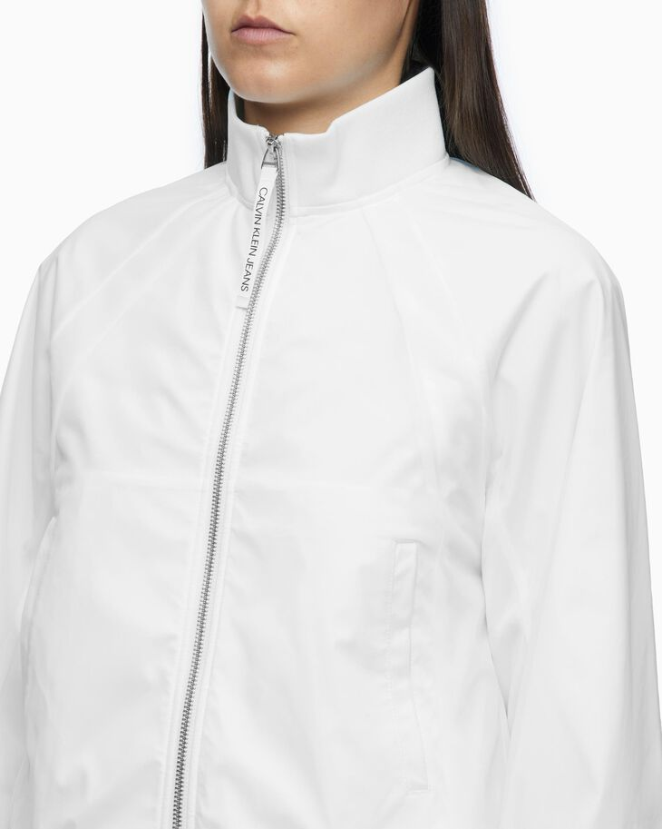 CALVIN KLEIN STAND UP COLLAR BOMBER JACKET