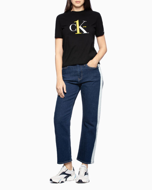 CALVIN KLEIN CK ONE LOGO STRAIGHT 티셔츠