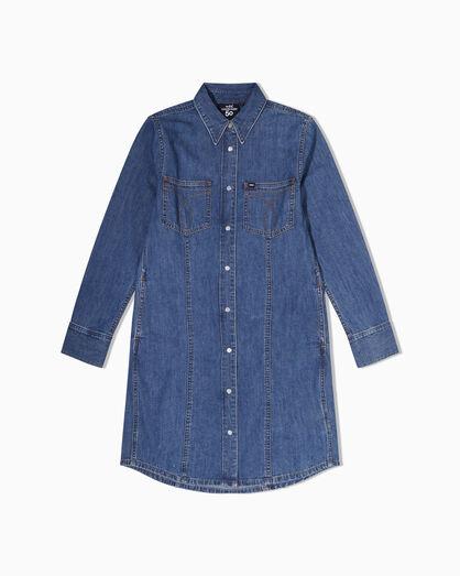 CALVIN KLEIN CK50 DENIM SHIRT DRESS