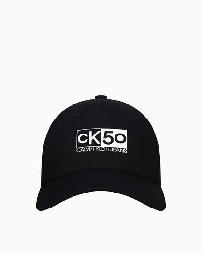 CALVIN KLEIN CK50 LOGO CAP