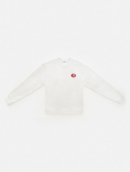 CALVIN KLEIN EST 1978 EMBROIDERED 크루넥 스웨트셔츠