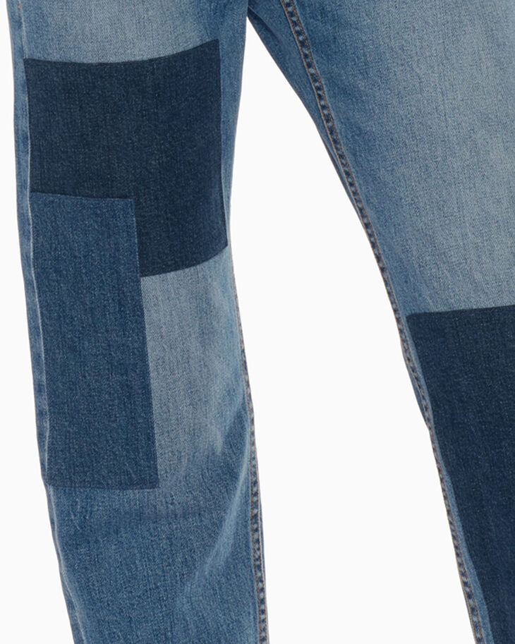 CALVIN KLEIN CKJ 030 HIGH STRAIGHT CROPPED JEANS
