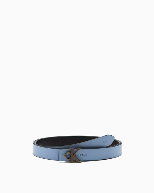 CALVIN KLEIN REVERSIBLE MONOGRAM BELT 24MM