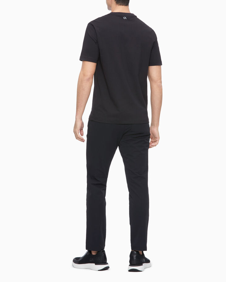 CALVIN KLEIN STATEMENT ESSENTIALS TRI-MONOGRAM TEE