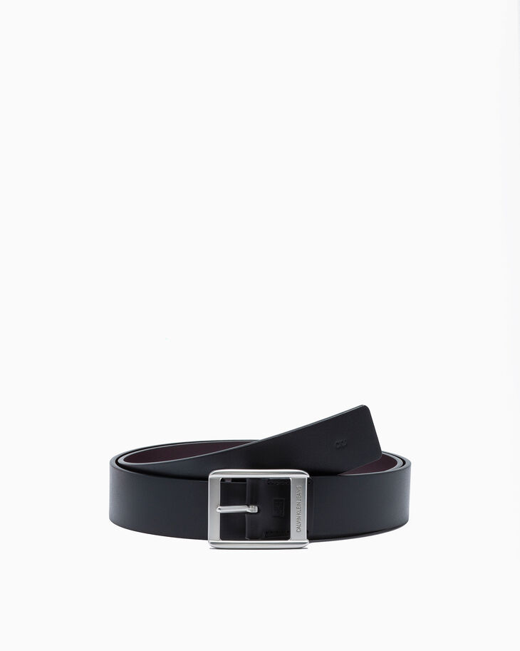 CALVIN KLEIN VALENTINE DAY CAPSULE LEATHER BELT & WALLET SET