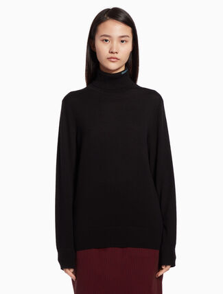 CALVIN KLEIN Knit turtleneck sweater
