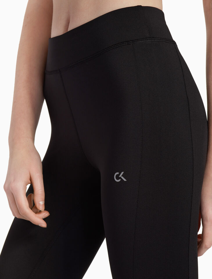 CALVIN KLEIN SIDE PANEL 크롭드 레깅스