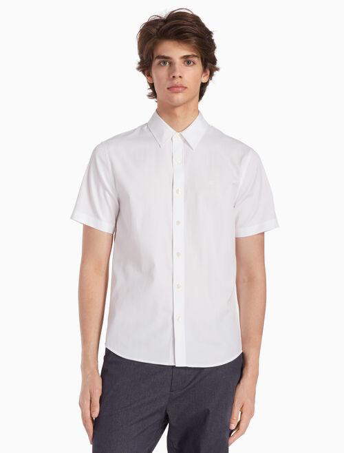 CALVIN KLEIN 우븐 옥스퍼드 셔츠