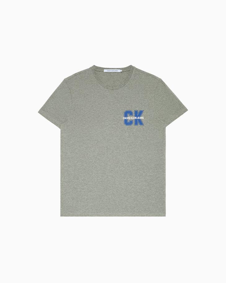 CALVIN KLEIN VARSITY LOGO PRINT 티셔츠