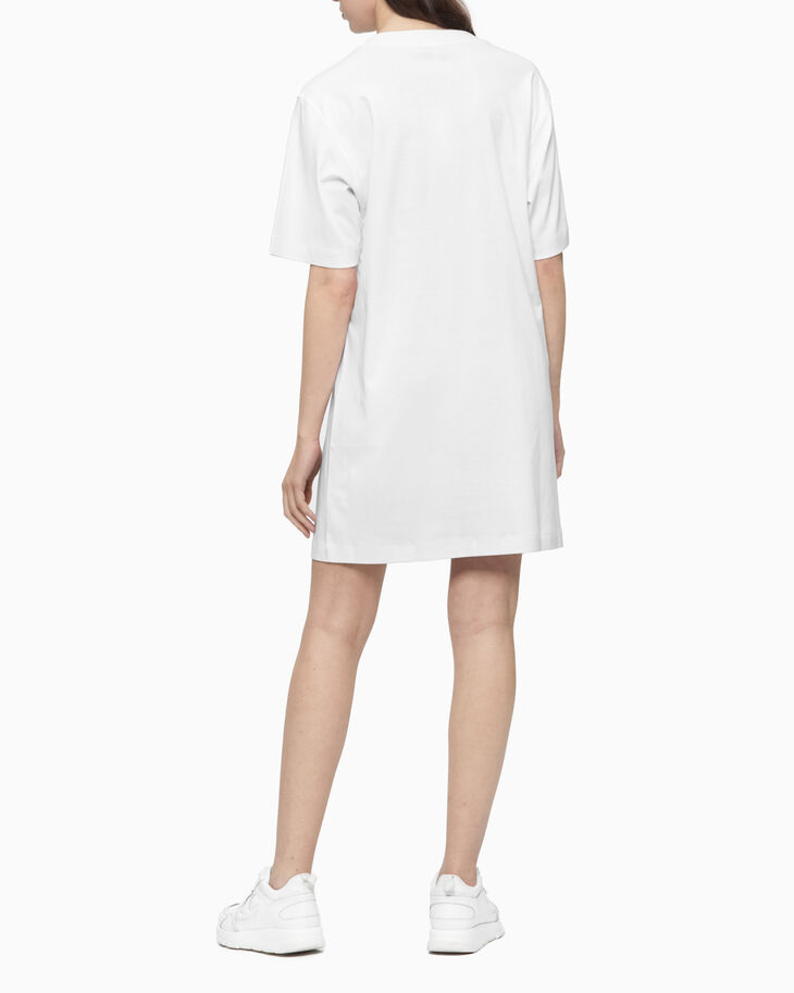 CALVIN KLEIN HEART CALVIN T-SHIRT DRESS