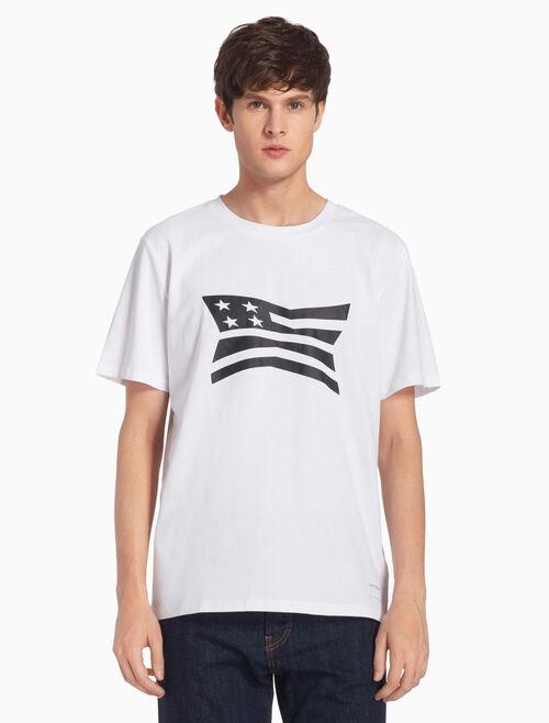 CALVIN KLEIN MODERNIST ロゴ グラフィック Tシャツ
