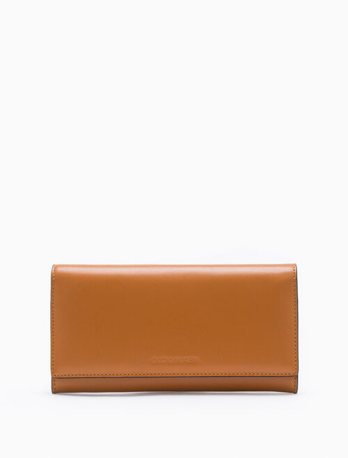 CALVIN KLEIN LONG FLAP WALLET