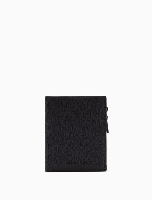 CALVIN KLEIN PEBBLE GRAIN BILLFOLD WALLET