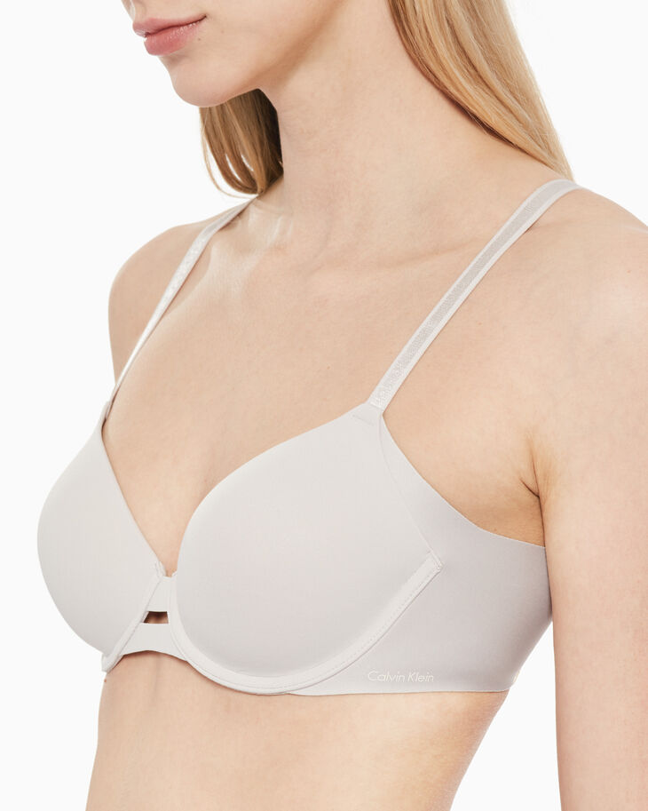 CALVIN KLEIN INVISIBLES LIGHTLY LINED FULL COVERAGE BRA