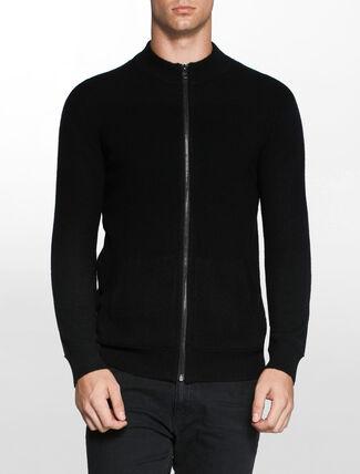 CALVIN KLEIN カシミアジップセーター