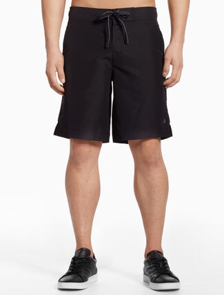 CALVIN KLEIN BOARDSHORTS WITH ZIP POCKET