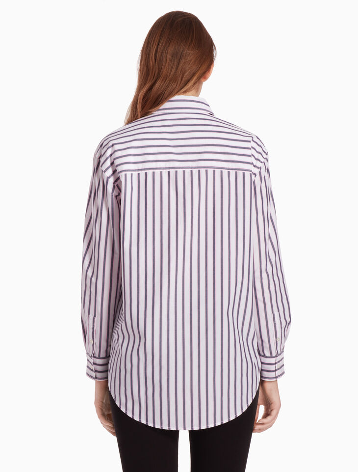 CALVIN KLEIN OVERSIZED STRIPE SHIRT