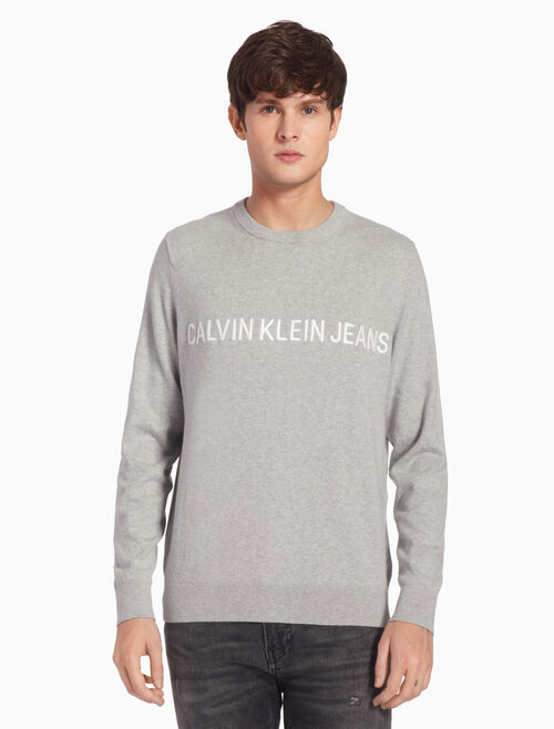 CALVIN KLEIN CASHMERE INSTITUTIONAL プルオーバー ジャンパー