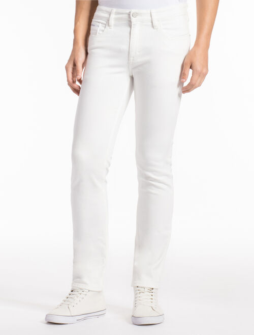 CALVIN KLEIN GREAT WHITE SKINNY JEANS