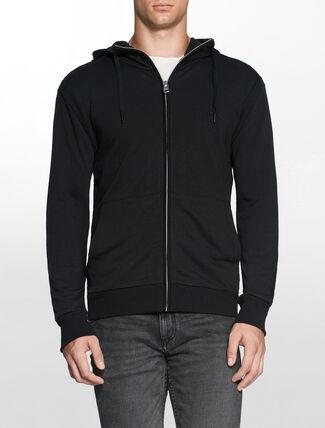 CALVIN KLEIN フーディー付きジップセーター