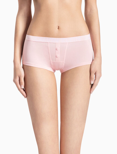 CALVIN KLEIN ULTIMATE COTTON HIPSTER BOYSHORT