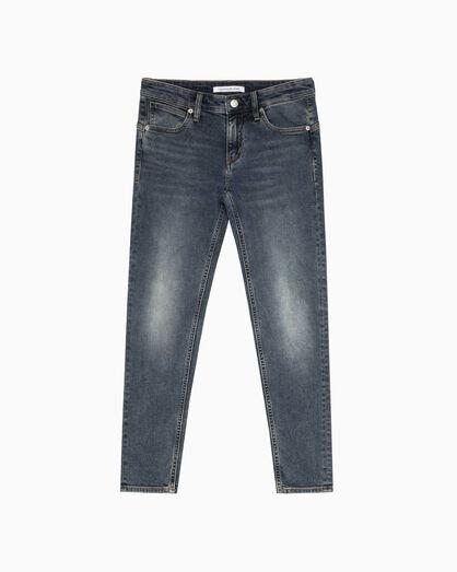 CALVIN KLEIN CKJ 022 洗色貼身及踝牛仔褲