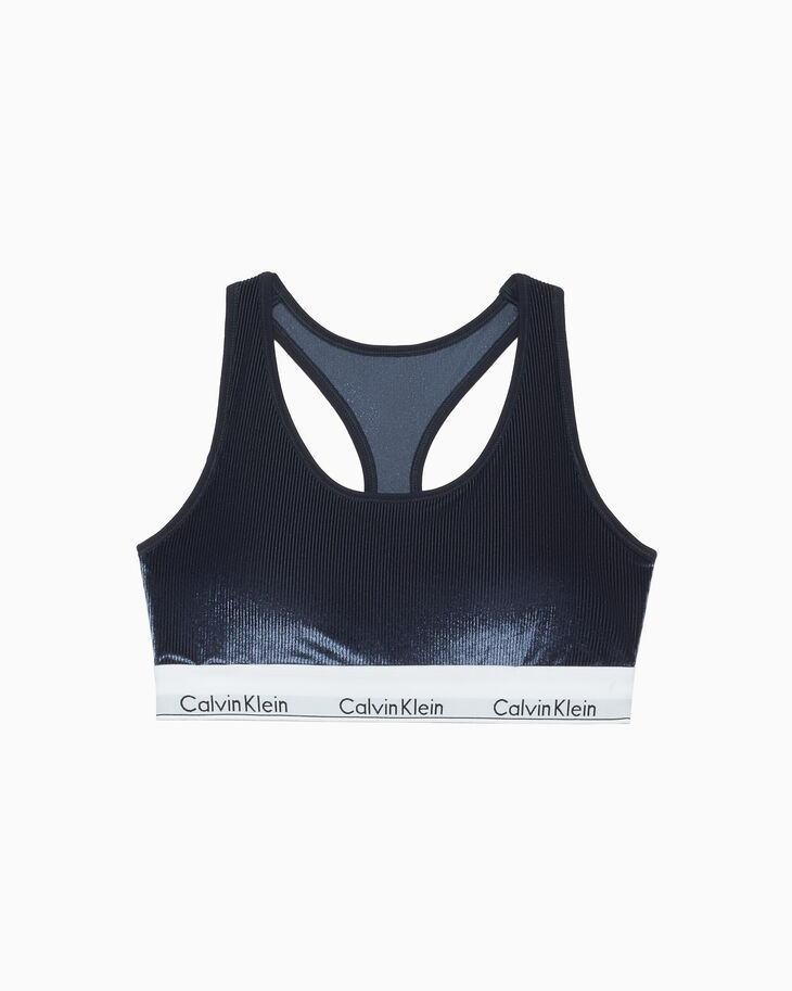 CALVIN KLEIN MODERN VELVET LIGHTLY LINED 브라렛