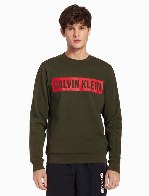 CALVIN KLEIN LOGO BLOCK PULLOVER JUMPER